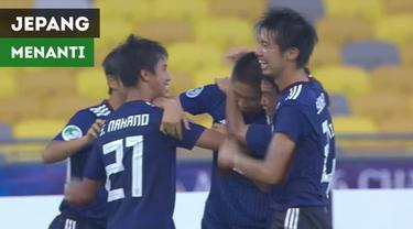 Berita video highlight kemenangan Jepang atas Oman pada perempat final Piala AFC U-16 2018, Minggu (30/9/2018). Selanjutnya Jepang akan menghadapi pemenang laga Timnas Indonesia melawan Australia.