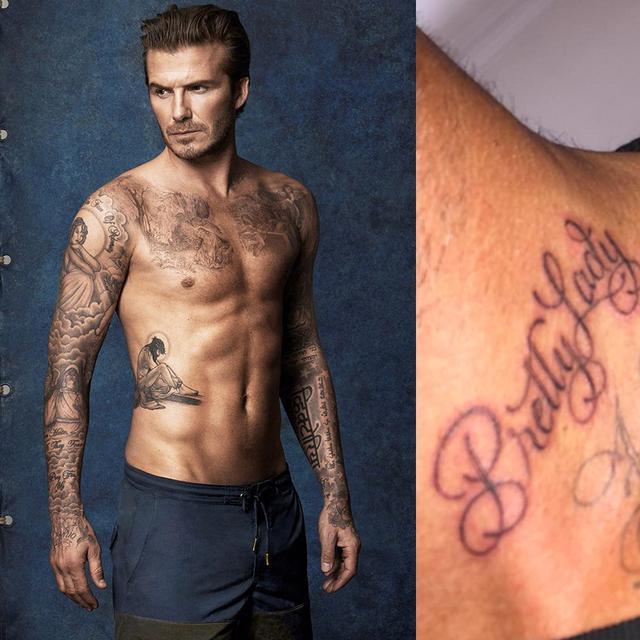 Ini 10 Tato Spesial David Beckham Health Liputan6 Com