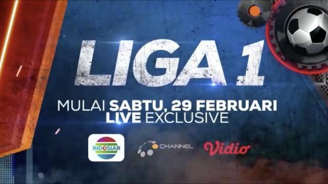 Berita video jangan lewatkan Liga 1 2020 yang dimulai pada 29 Februari ditayangkan secara live exclusive di Indosiar. Jangan lewatkan laga-laga Liga 1 lainnya yang bisa disaksikan di O Channel dan Vidio.