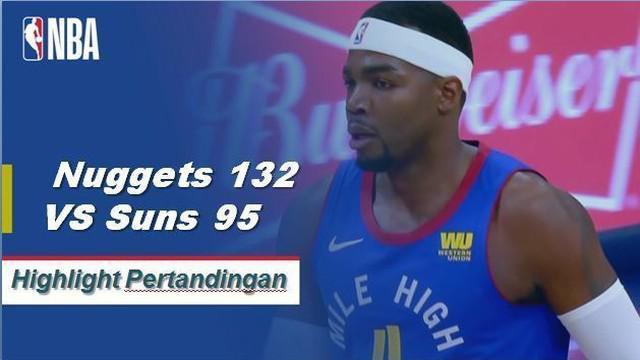 Kelima starter Nuggets mencetak angka ganda yang dipimpin oleh 20 poin Paul Millsap.