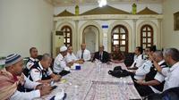 Media Center Haji Daerah Kerja (MCH Daker) Makkah berkesempatan berbincang dengan Konsulat Jenderal RI di Jeddah. (www.haji.kemenag.go.id)