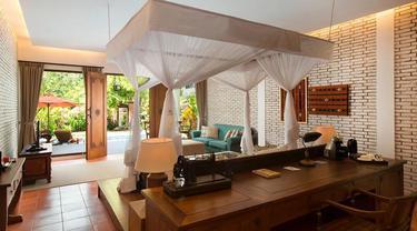 Salah satu kamar di Plataran Komodo Resort and Spa.