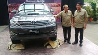 Fortuner G 4x4 2,5 VNT Diesel A/T ini mampu memenuhi kebutuhan konsumen yang hobi dengan kendaraan 4x4.