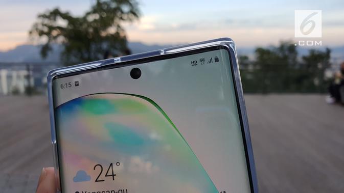 Menguji Jaringan 5G di Korea Selatan dengan Galaxy Note 10. Liputan6.com/Agustinus Mario Damar