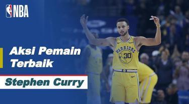Berita Video Stephen Curry Jadi Bintang Saat Golden State Warriors Kalahkan Portland Trail Blazers di NBA