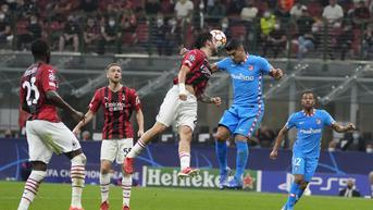 FOTO: Franck Kessie Dikartu Merah, AC Milan Takluk Atas Atletico Madrid