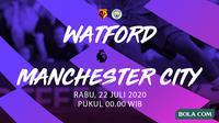 Premier League: Watford vs Manchester City (Bola.com/Dody Iryawan)