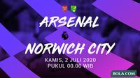 Premier League - Arsenal Vs Norwich City (Bola.com/Adreanus Titus)
