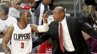 Point guard Los Angeles Clippers, Chris Paul, kembali terpilih sebagai Presiden Asosiasi Pemain NBA untuk periode 2017-2021. (EPA/Paul Buck)