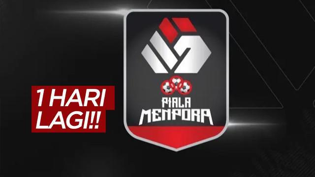 Berita video jelang Piala Menpora 2021 yang akan tayang di Indosiar dan Vidio mulai 21 Maret 2021.