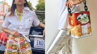 Putri Samboda ciptakan fashon dari bahan daur ulang. Sumber: Instagram/putrisamboda