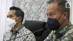 Pertemuan yang digelar di kantor Kemenperin, diapresiasi baik oleh Agus Gumiwang selaku pemegang otoritas di sektor industri dalam negeri di Jakarta, Selasa (05/4/2021). (Liputan6.com/HO/Alwi)