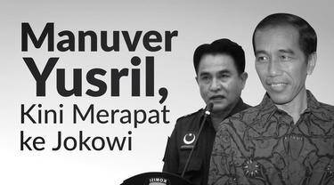 Yusril Ihza Mahendra menjadi pengacara Jokowi-Ma'ruf.