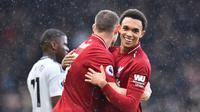 Trent Alexander-Arnold ingin habis-habisan bantu Liverpool juara Liga Inggris (GLYN KIRK / AFP) (