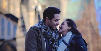 Donna Agnesia dan Darius Sinathrya