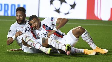 FOTO: Kalahkan Atalnta, PSG Lolos ke Semifinal Liga Champions
