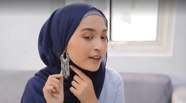 Tutorial hijab anting