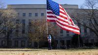 Ilustrasi bendera Amerika Serikat (AFP Photo)