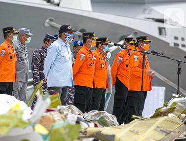 Operasi Pencarian Pesawat Sriwijaya Air SJ 182 Diperpanjang Selama 3 Hari