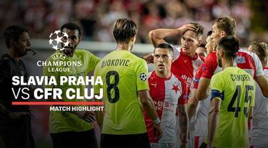 Berita video highlights leg II playoffs Liga Champions 2019-2020 antara Slavia Praha melawan CFR Cluj yang berakhir dengan skor 1-0, Rabu (28/8/2019).