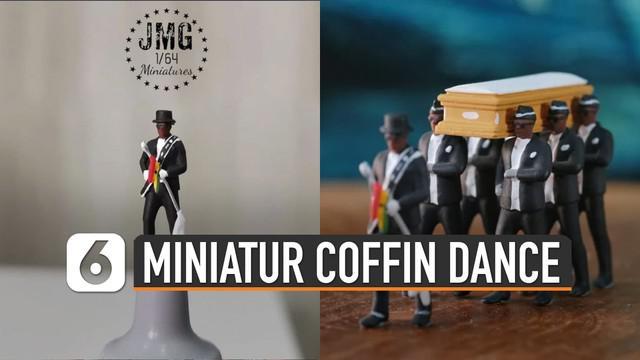 Viralnya Coffin Dance atau tarian pembawa peti jenazah jadi inspirasi karya seni.