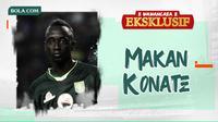 Wawancara Eksklusif - Makan Konate. (Bola.com/Dody Iryawan)