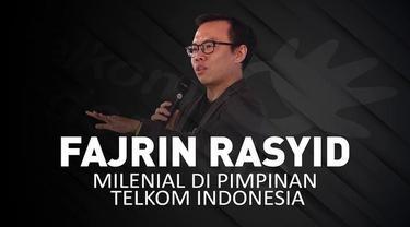 PT Telkom Indonesia (Persero) kedatangan pimpinan baru, Muhammad Fajrin Rasyid.