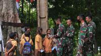 TNI buat perpustakaan di wilayah perbatasan