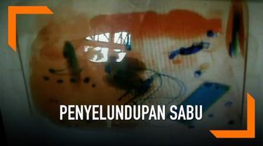Memanfaatkan padatnya pemudik di Bandara 3 pemuda mencoba selundupkan sabu menuju Palembang melalui Bandara Kualanamu Medan. Aksi mereka digagalkan petugas yang curiga dengan isi tas para tersangka
