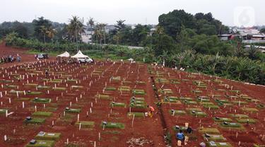 Pemprov DKI Jakarta Anggarkan Rp254 Miliar buat Penambahan Lahan Pemakaman Jenazah dengan Protokol COVID-19