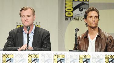 Matthew McConaughey dan Christopher Nolan Bikin Kaget Pengunjung