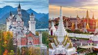 Istana Kerajaan Paling Megah di Dunia. (Sumber: Brain Berries)