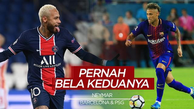 Berita Video Tiktok Bola.com, Neymar dan 4 pemain yang Pernah Berseragam Barcelona dan PSG