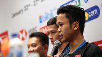 Pada babak pertama Indonesia Masters 2019, Anthony Ginting akan berhadapan dengan sesama wakil Indonesia, Tommy Sugiarto. (dok. PBSI)