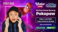 Nonton Game Bareng dari Vidio eSports. (Sumber: Vidio)