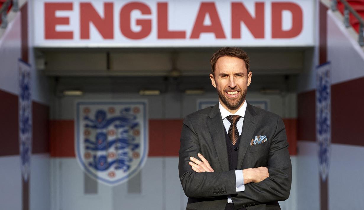 Gareth Southgate, Pelatih Timnas Inggris, telah mengumumkan daftar 33 nama skuat The Three Lions untuk Euro 2020 (Euro 2021). Di luar dugaan, tenyata ada juga pemain yang notabene adalah pemain bintang tak dipanggil ke Euro 2020 (Euro 2021). (Foto: AFP/Niklas Halle'n)