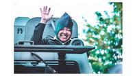 Momen Ibu Risma Saat Ikut Parade Surabaya Juang 2019 (sumber:Instagram/surabaya)