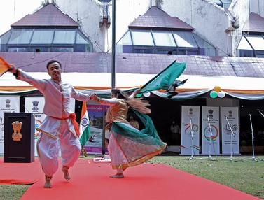 Peringatan Hari Kemerdekaan ke-73 India di Jakarta
