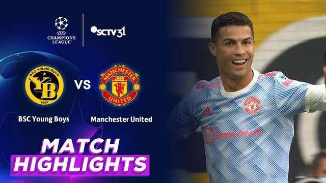 Berita Video, Highlights Pertandingan Young Boys Vs Manchester United pada Rabu (15/9/2021)