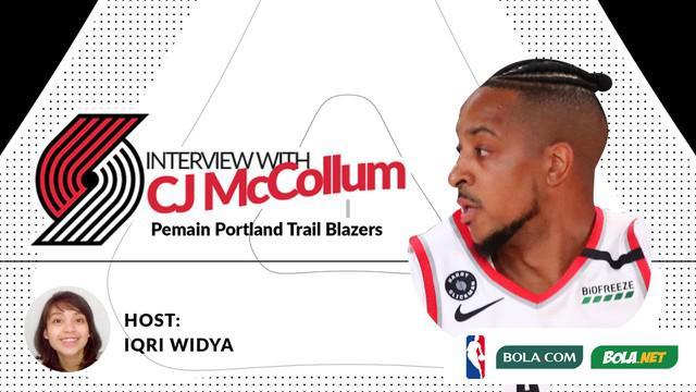 Berita video wawancara eksklusif Bola.com dan Bola.net dengan bintang NBA dari tim Portland Trail Blazers, CJ McCollum.