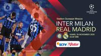 Inter Milan vs Real Madrid (Liputan6.com/Abdillah)