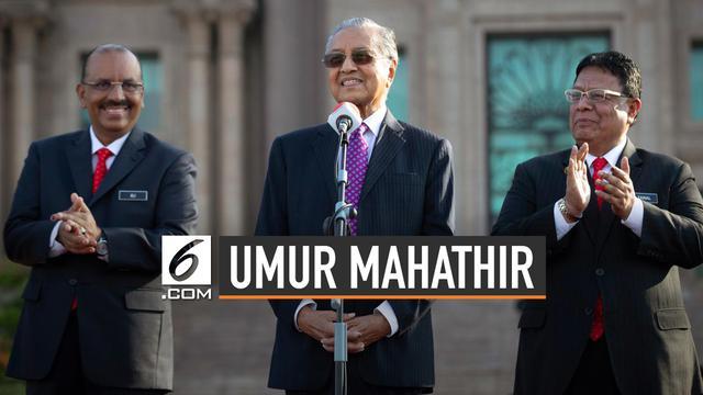 Umur Mahathir Mohamad Yang Akan Jadi Ikon Panjang Umur