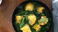 Inspirasi menu sahur nggak ribet untuk kamu, yuk buat sayur bayam jagung!