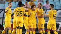Timnas Australia. (Bola.com/Dok. AFC)
