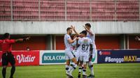 Pemain Bali United FC merasa kecewa karena Piala Wali Kota Solo kembali ditunda (Liputan6.com / Dewi Divianta)