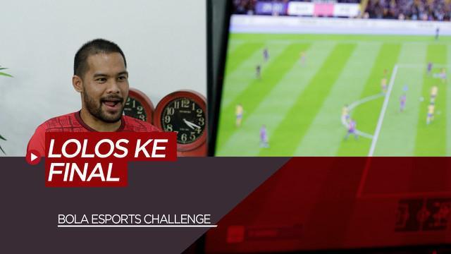 Berita Video Kalahkan Wakil The Jakmania, Andritany Ardhiyasa Lolos ke Final BOLA Esports Challenge