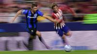 Striker Atletico Madrid asal Prancis, Antoine Griezmann. (AFP/Javier Soriano)
