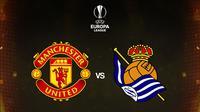 Liga Europa - Manchester United Vs Real Sociedad (Bola.com/Adreanus Titus)