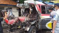 Kecelakaan Lalu Lintas beruntun terjadi di Jl Tol Cipali KM 78 Jalur A - Purwakarta, Senin (30/11/2020).