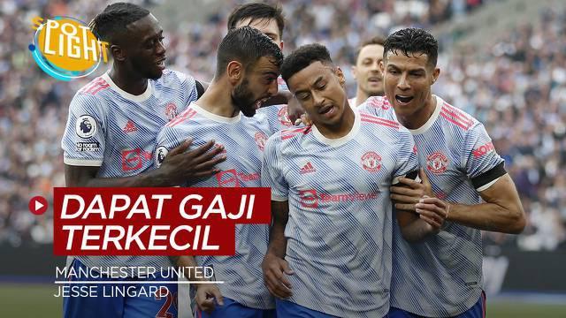Berita video spotlight kali ini membahas tentang empat pemain dengan gaji terkecil di Manchester United, salah satunya ialah Jesse Lingard.